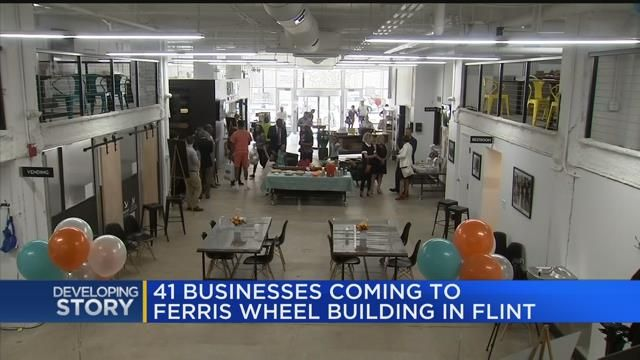 41 businesses coming to Ferris Wheel building in Flint