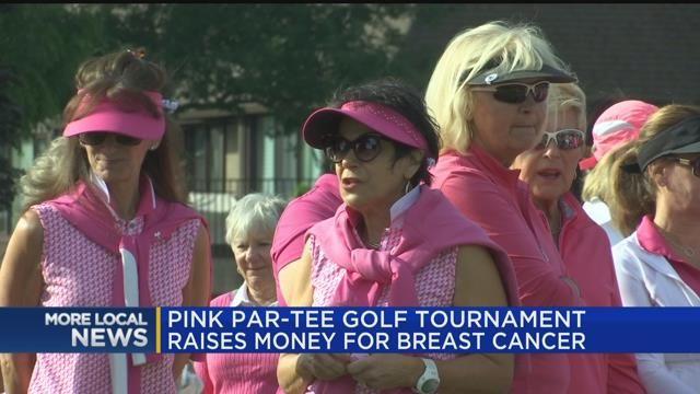 Pink Par-Tee golf tournament raises money for breast cancer
