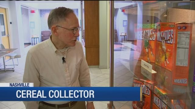 Vandy grad collects cereal boxes