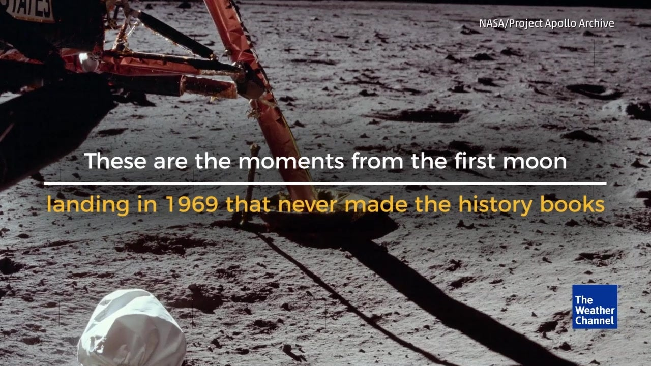 Unseen Moments from Apollo Moon Landing