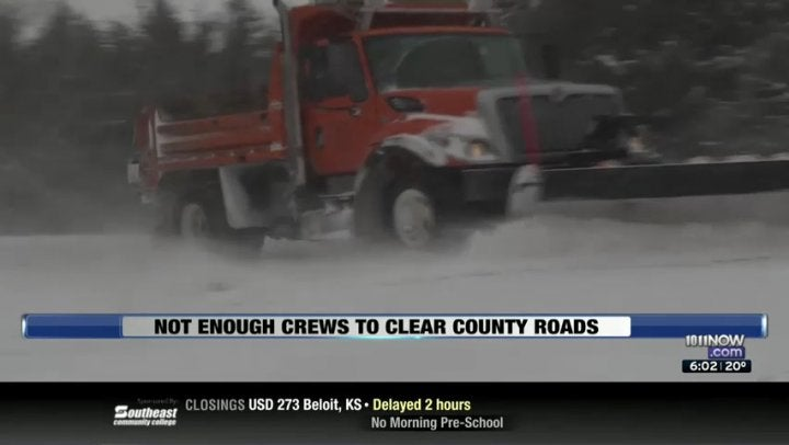 Lancaster County Lacks Crews to Clear Roads