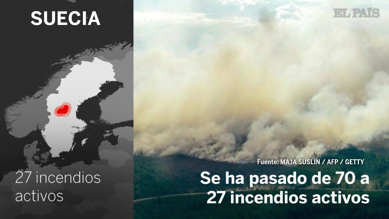 Catastrófico mes de julio en varios países, con decenas de muertos por incendios, olas de calor e inundaciones