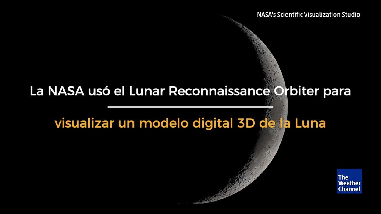 La NASA celebra a la Luna con este magnífico video