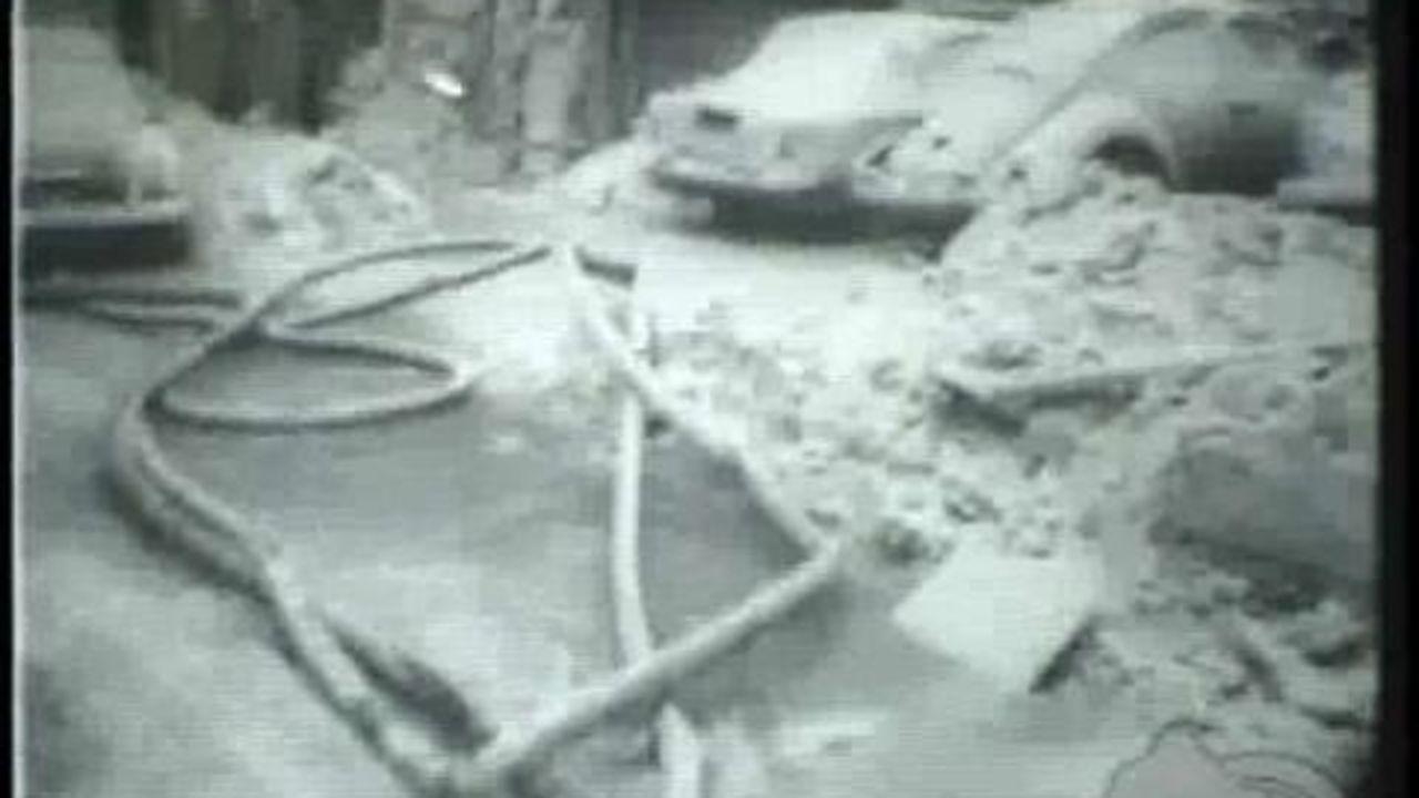 Snowstorm Paralyzes Northeast 1961