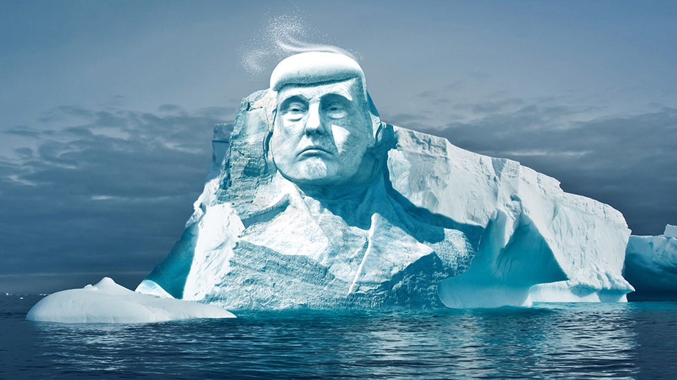 'Project Trumpmore' to Carve President's Face into Melting Iceberg | The Weather Channel