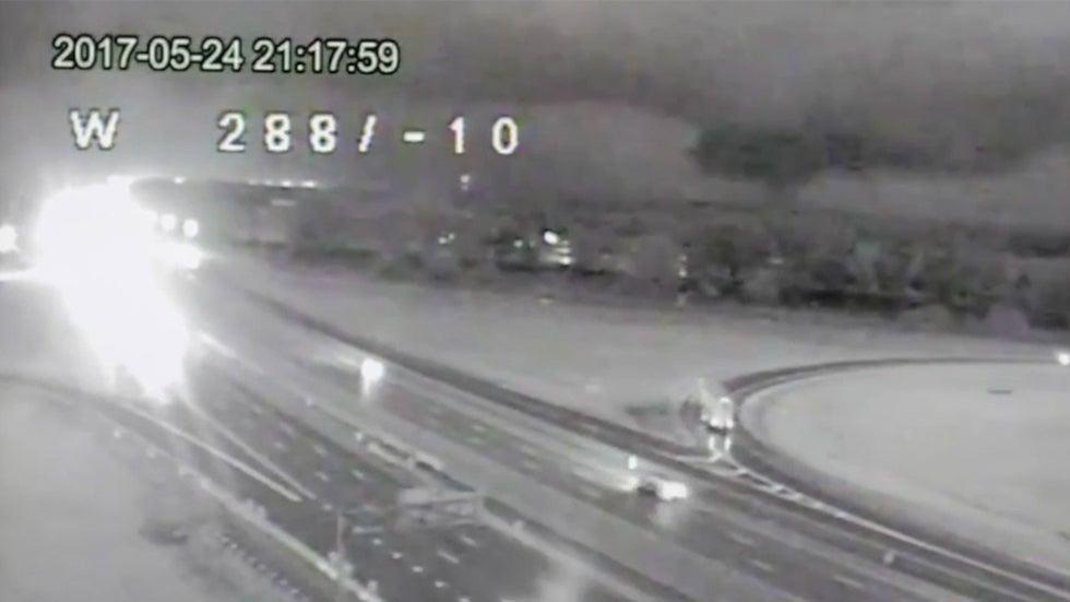 tornado captured on traffic camera in ohio