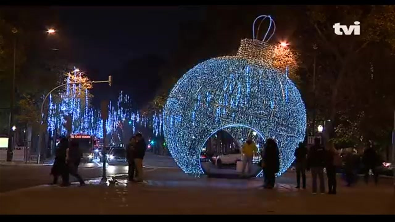 As luzes de Natal que deixam Lisboa ainda mais bonita