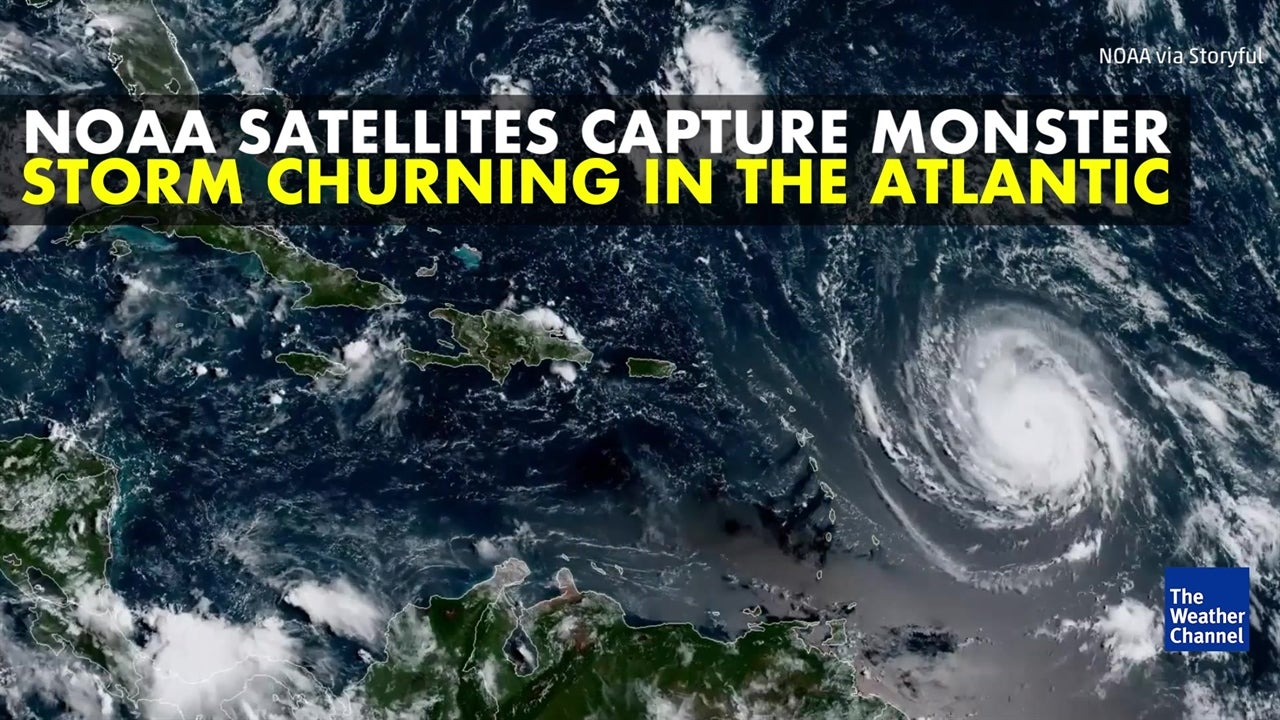 Amazing Satellite Images Of Hurricane Irma The Weather Channel - World satellite view of weather
