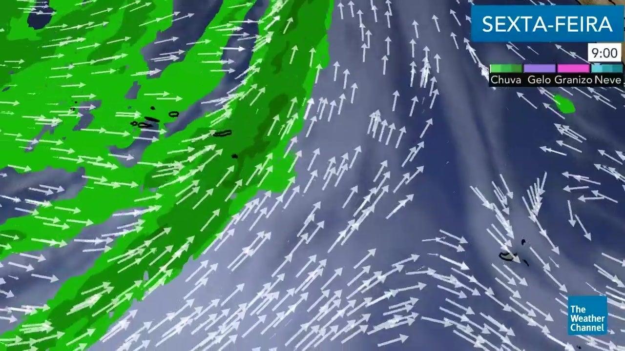 Veja  o tempo para esta sexta-feira nos Arquipélagos