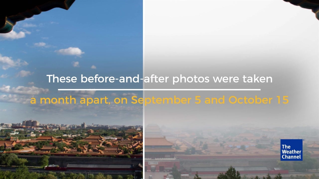 Shocking Before-and-after Photos of Air Pollution in Beijing
