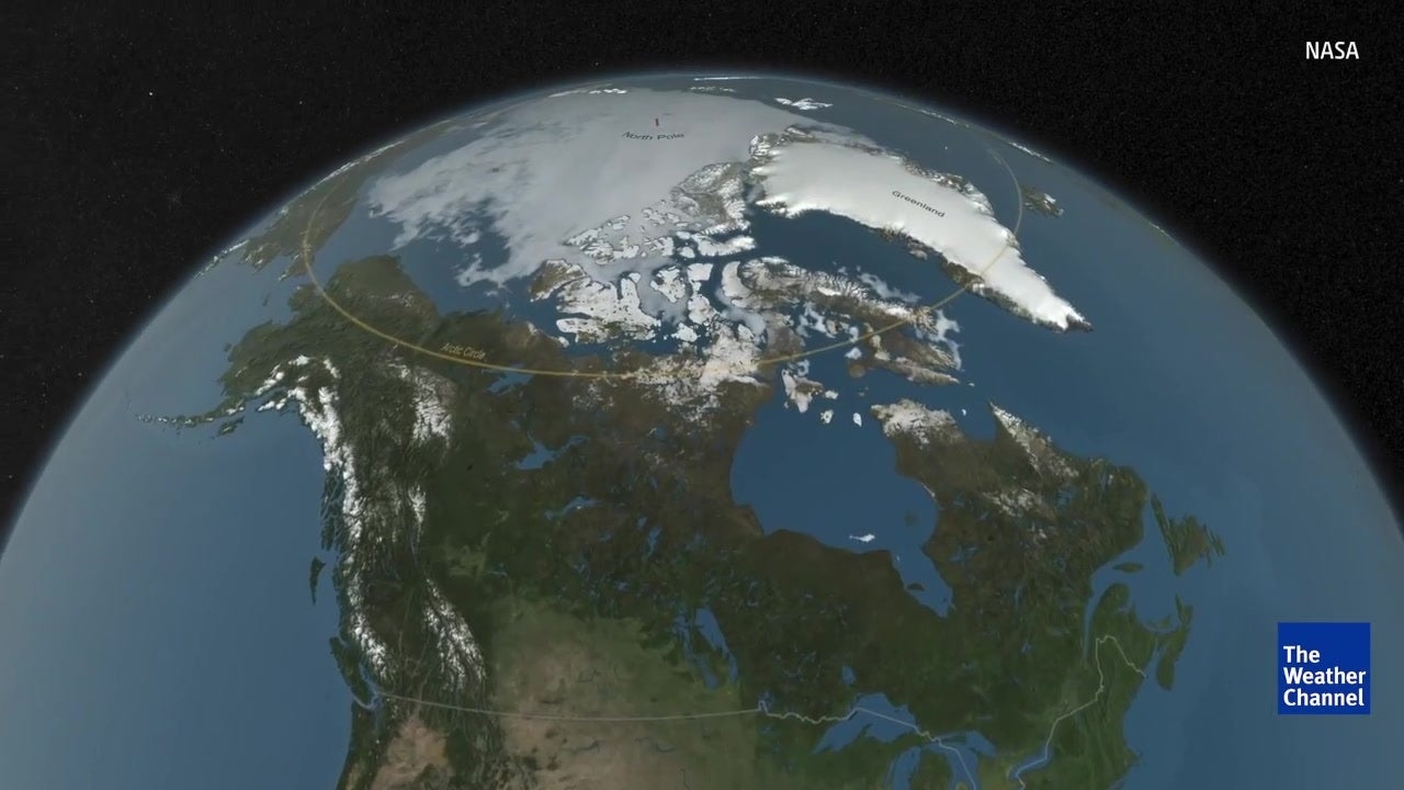 Cratera maior do que Paris encontrada na Gronelândia