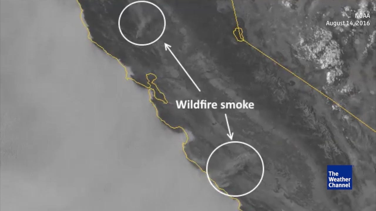 NASA Satellite Images of California Wildfires | The Weather Channel