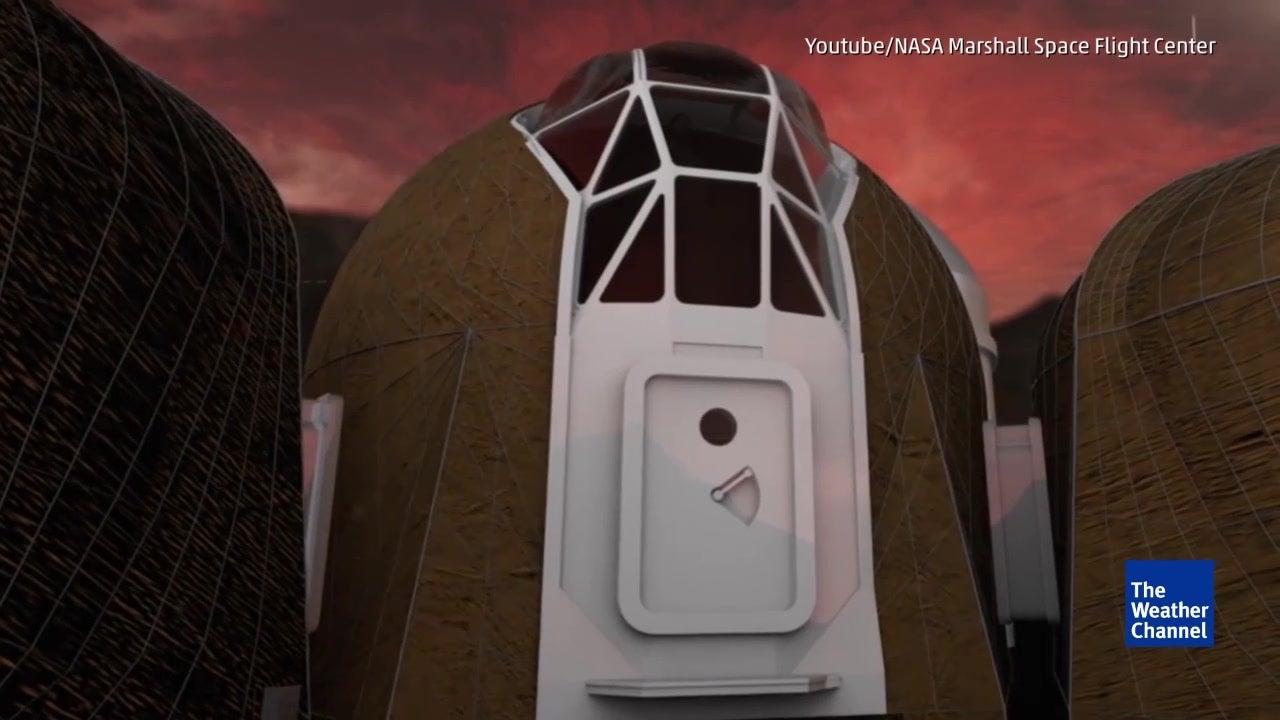 Como será viver em Marte?