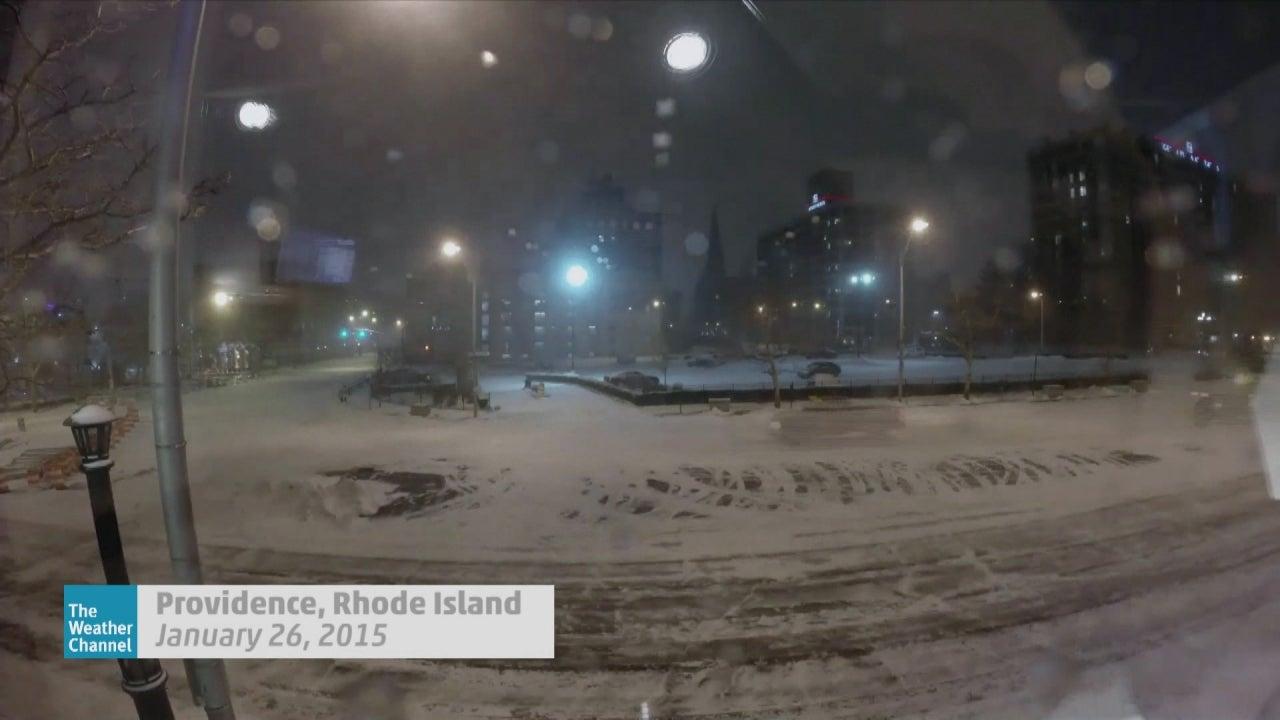 Rhode Island Monthly Weather