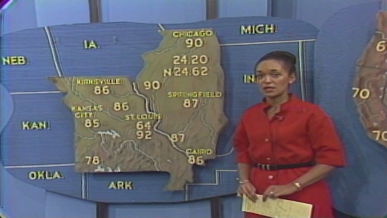 Dianne White Clatto, America's First Black TV Weather Personality