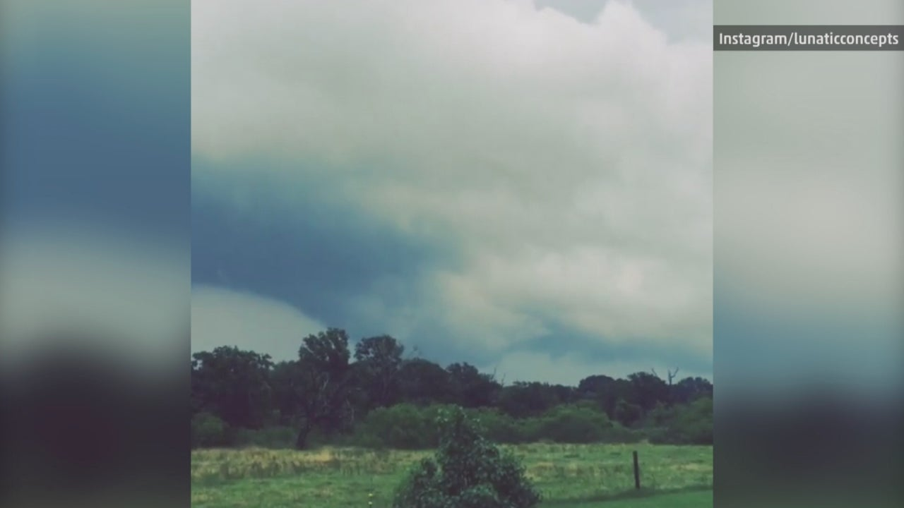 tornado spotted in giddings  texas
