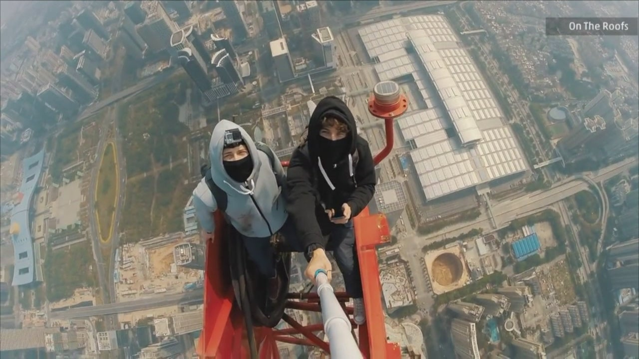 Scaling a Tower in China