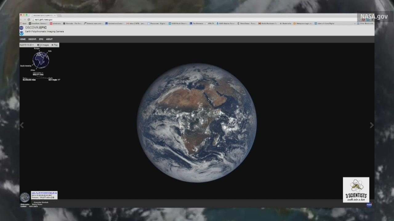 New NASA Website Shows Daily Views of Earth
