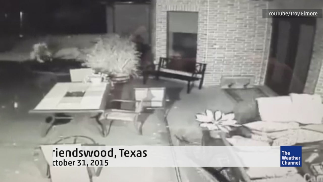 tornado caught on security cam in friendswood  texas