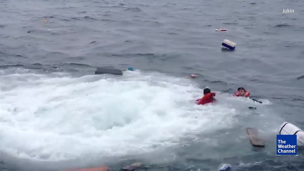 WATCH: Dramatic rescue from the Irish Sea