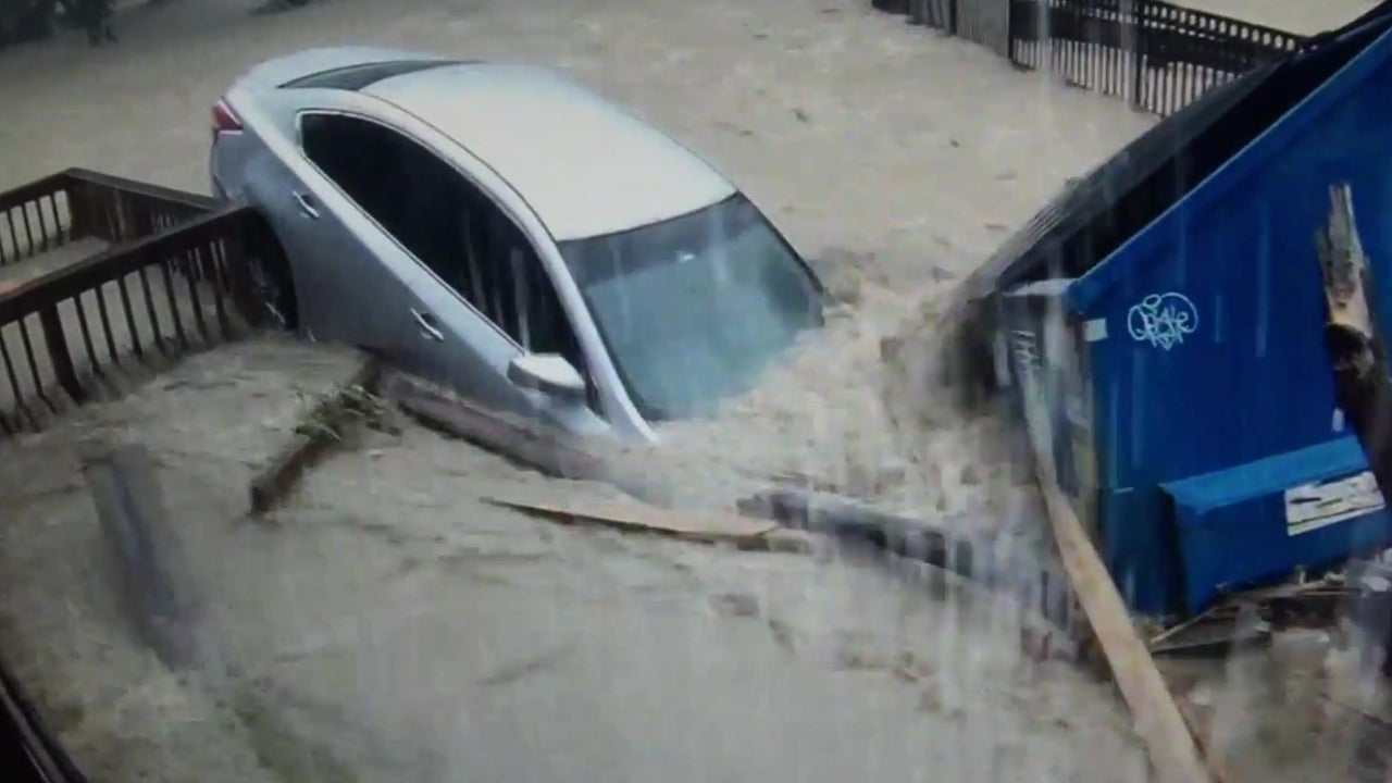 Historic Flooding in Ellicott City, MD Shown in Incredible Time-lapse