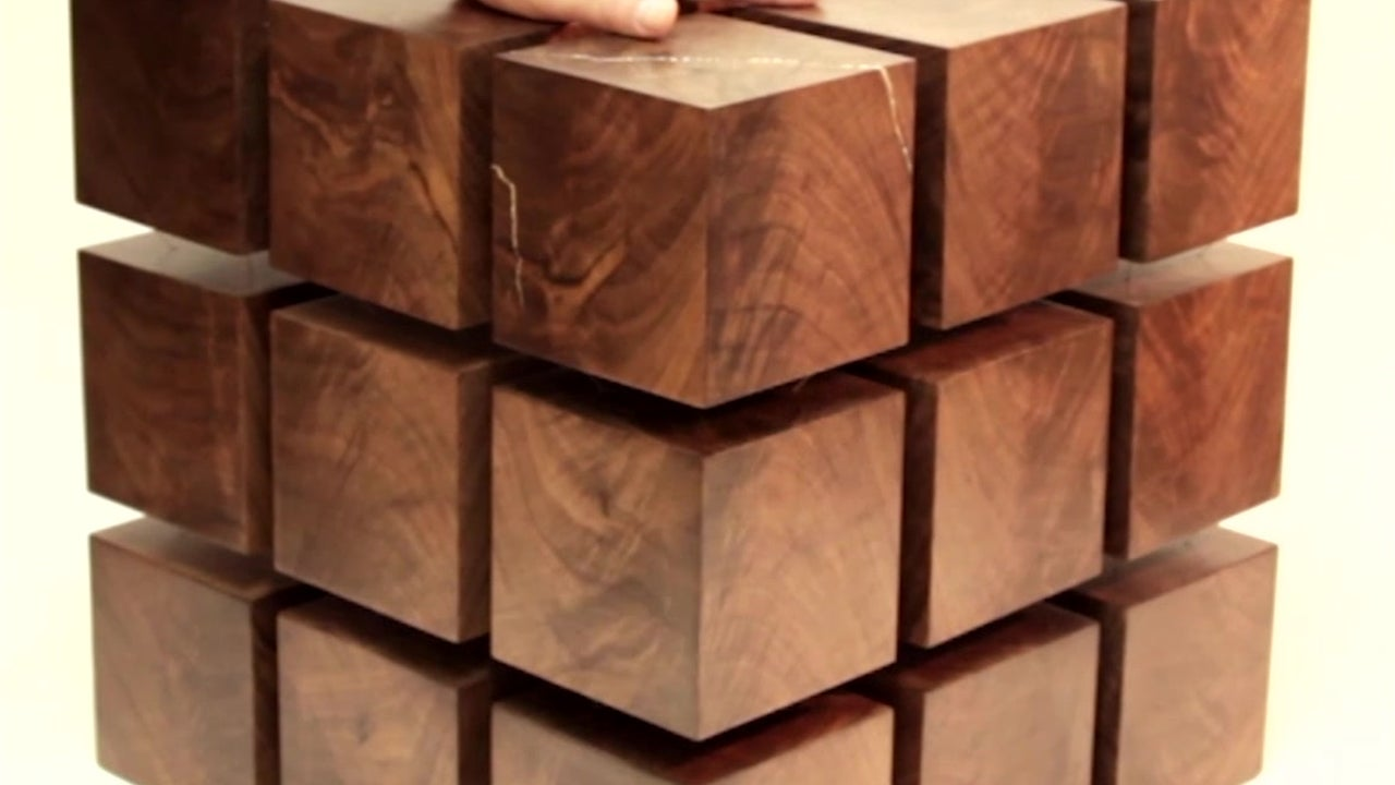Floating Coffee Table is Surreal Conversation Piece