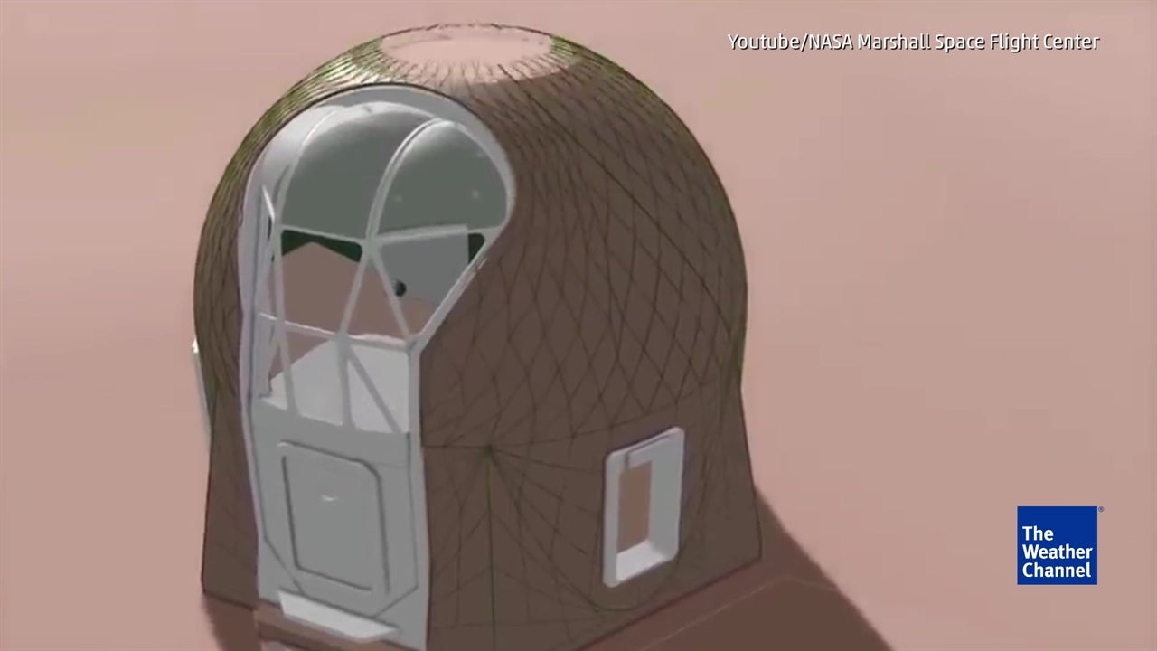 This is what homes on Mars will look like