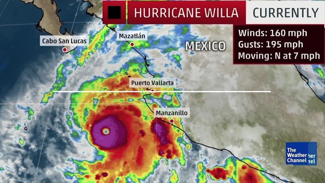 Huracán de Categoría 5 se dirige a México