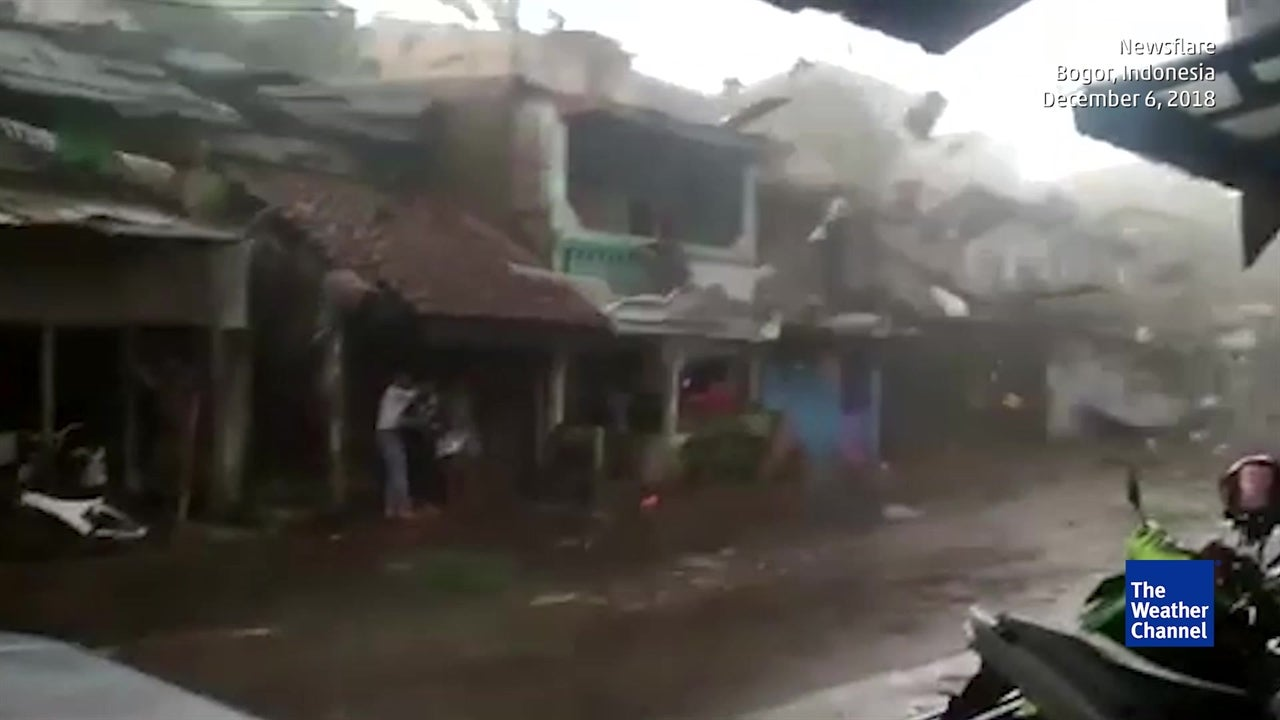 Tornado Turns Deadly in Indonesia