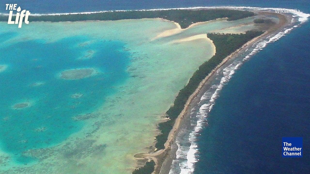 Pacific Island Nation Of Tuvalu Gaining Land Despite Sea