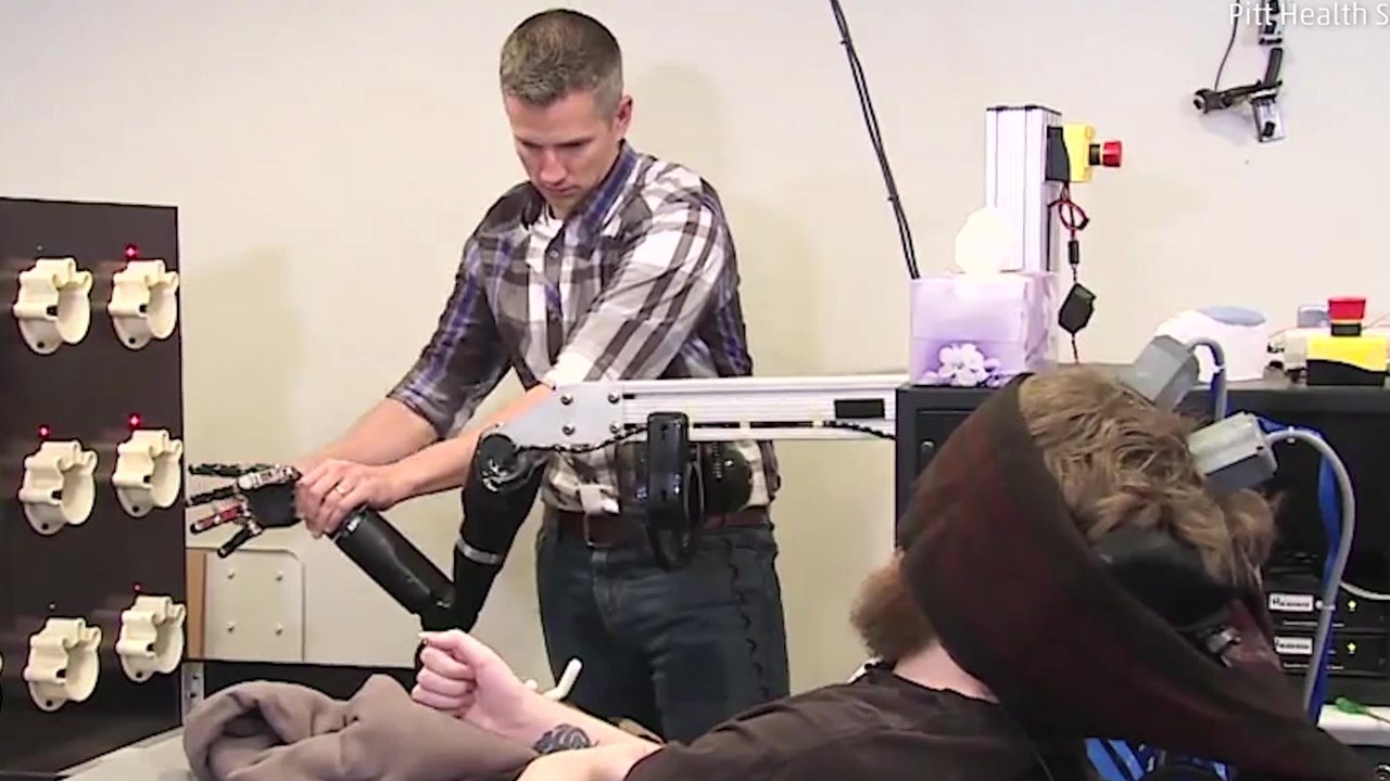 Implant Restores Touch to Paralyzed Man
