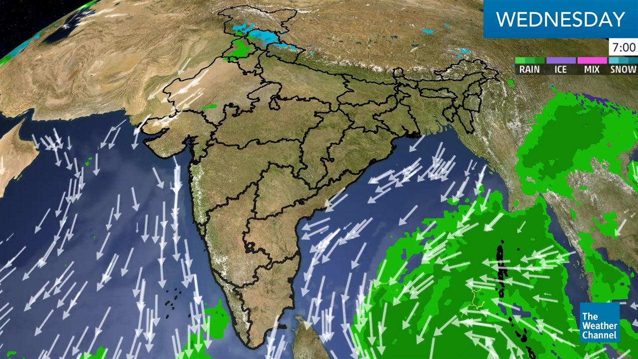 WATCH: Latest India Weather Forecast - December 12