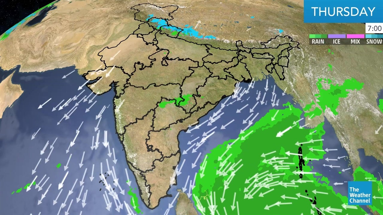 WATCH: Latest India Weather Forecast - December 13
