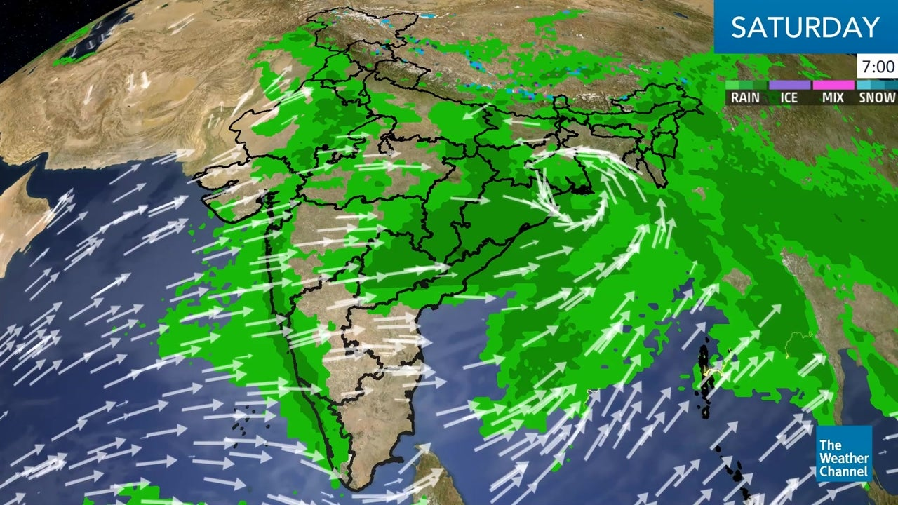 WATCH: India Weekend Weather Forecast