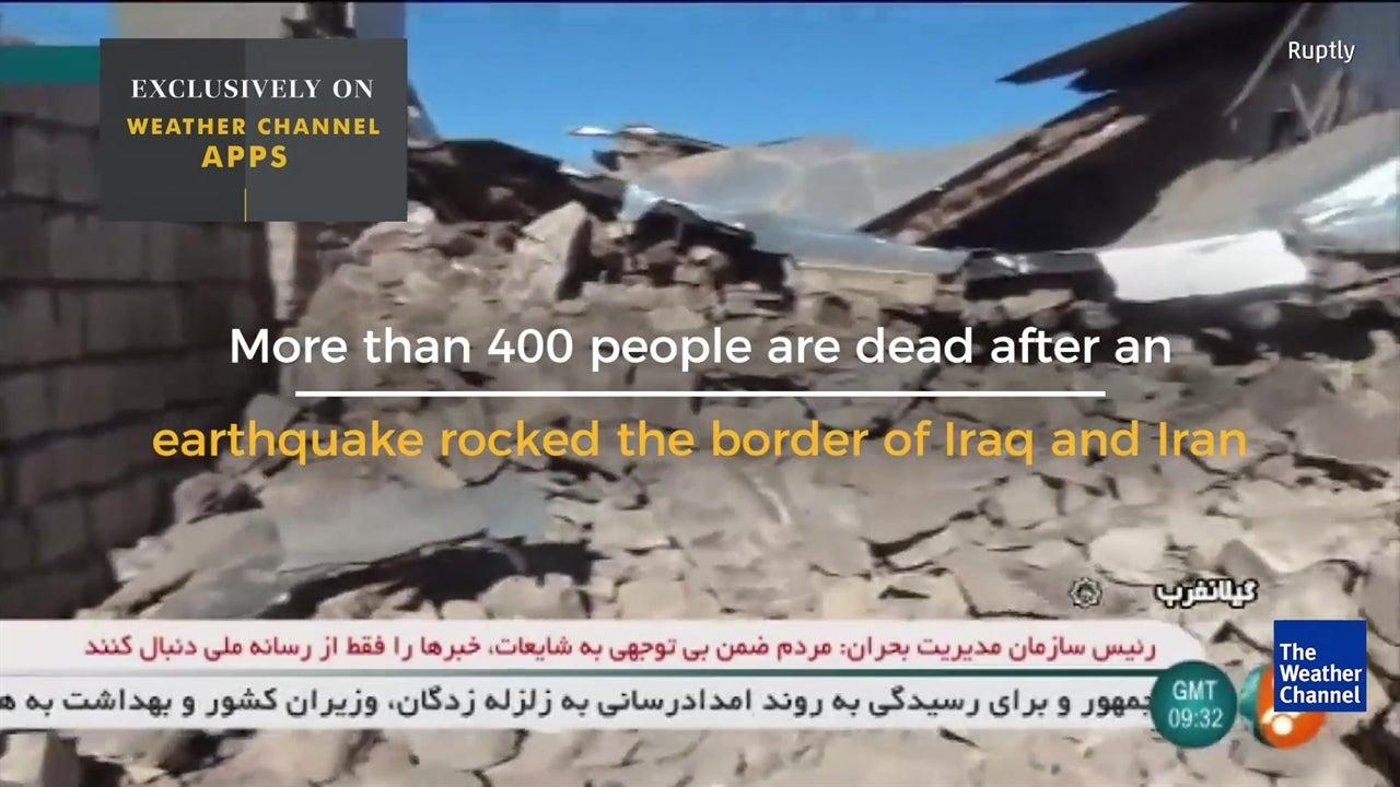 Deadly earthquake rocks Iraq and Iran border