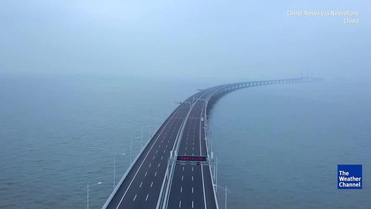 Esta é a maior ponte marítima do mundo