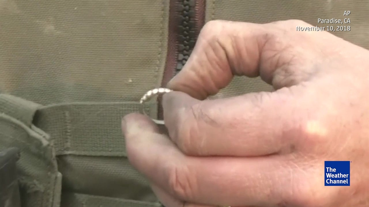 Wedding Ring Found Inside Home Burned to Ground by Camp Fire