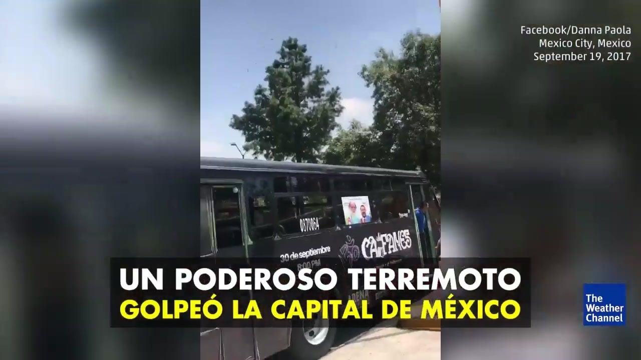 Terremoto sacude Ciudad de México