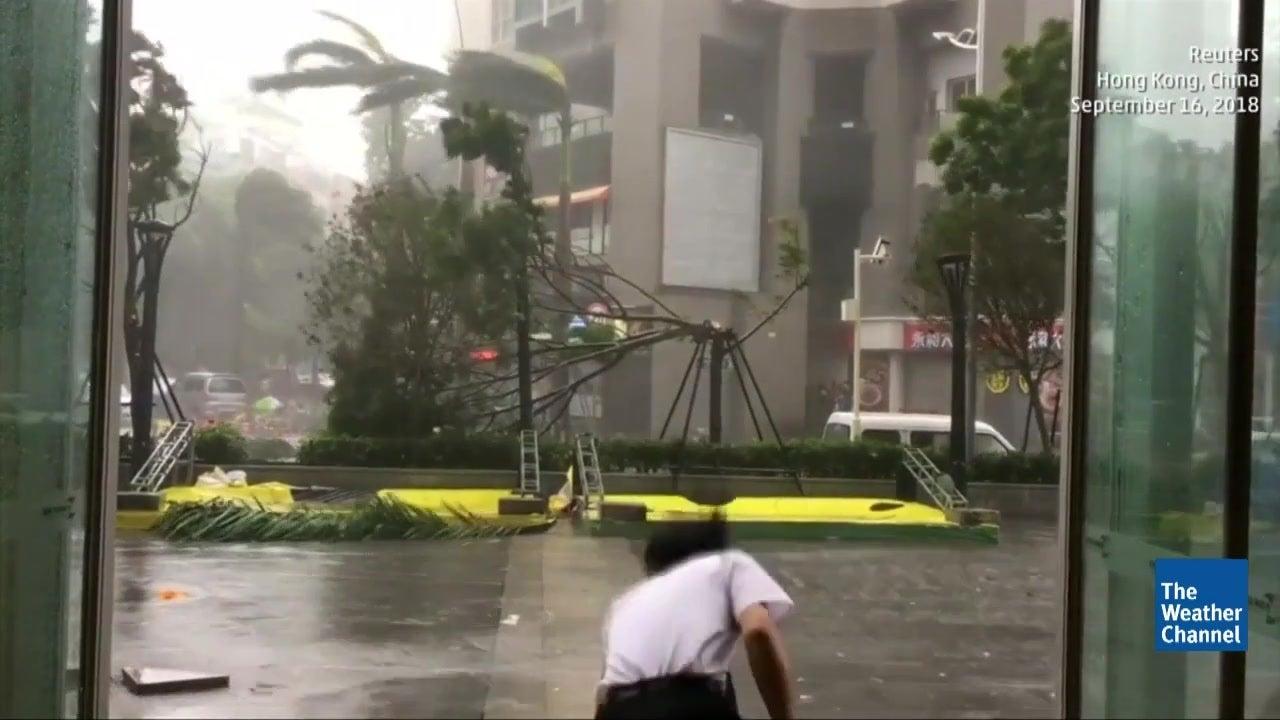 Typhoon Mangkhut Leaves Huge Swath of Southeast Asia Devastated
