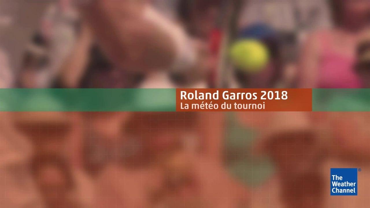 Roland-Garros : la météo du 6 juin en vidéo