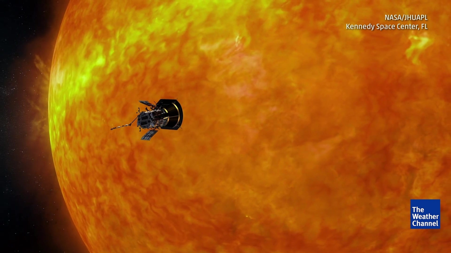 Parker Co Weather >> Nasa S Parker Solar Probe Will Touch The Sun The Weather