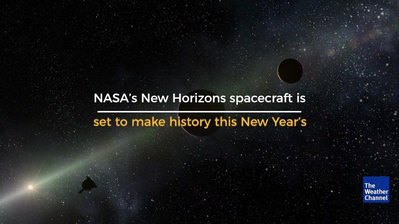 NASA's New Horizons Spacecraft to Make History on New Year's