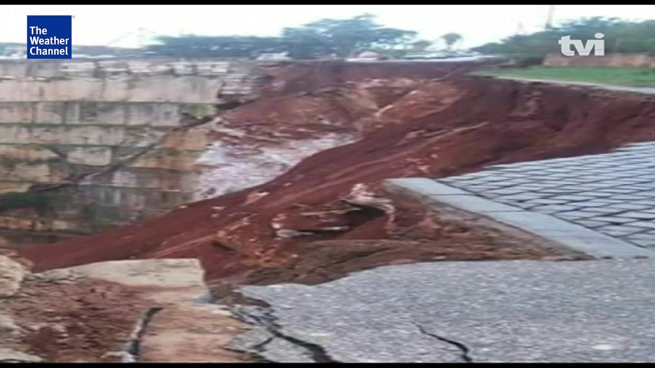 Deslizamento de terra em Borba
