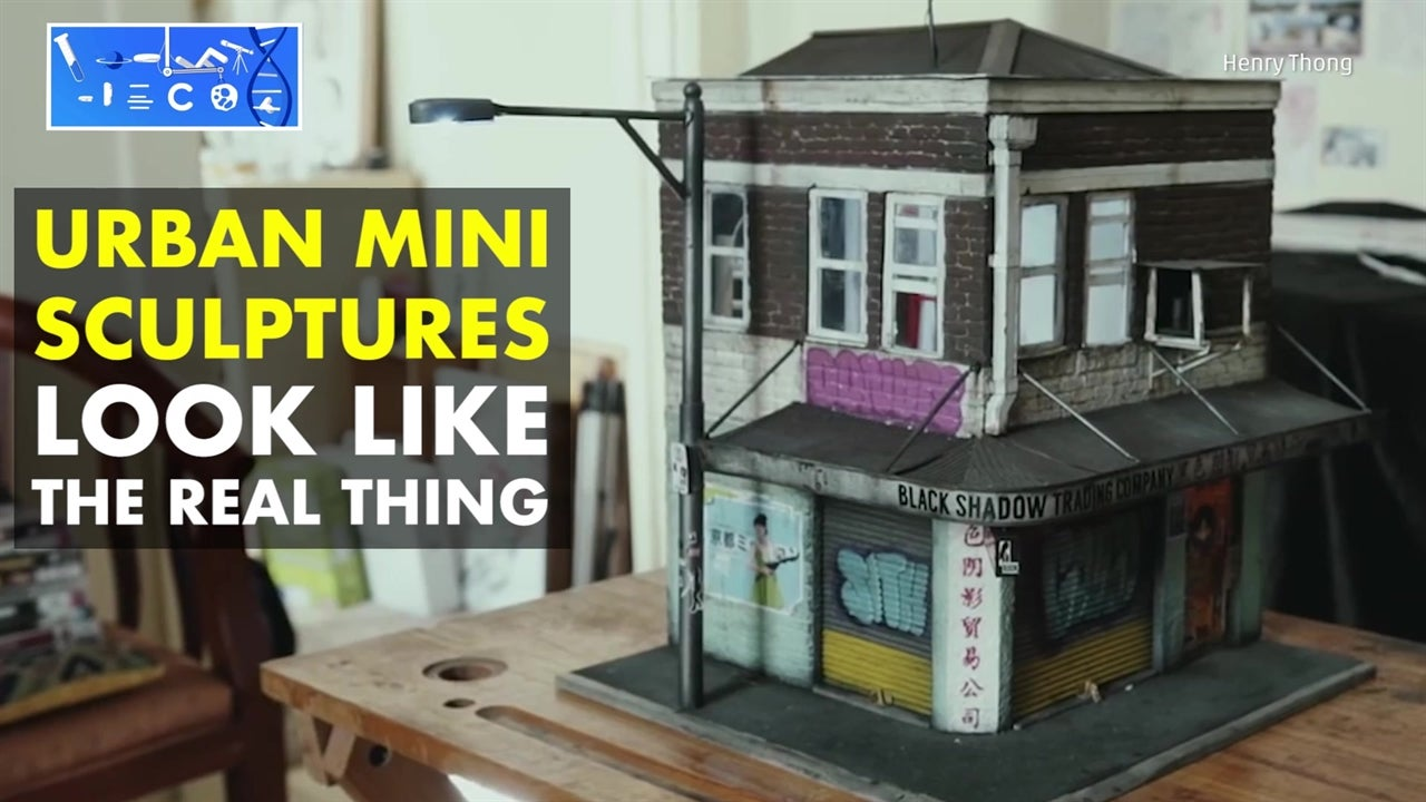 Mini Sculptures Bring Urban Neighborhoods to Life