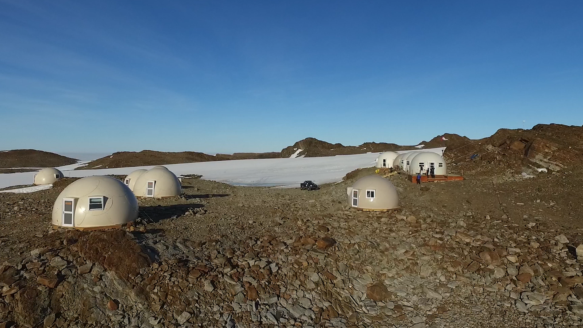 Antarctica's Domes at White Desert is Most Remote Hotel on Earth