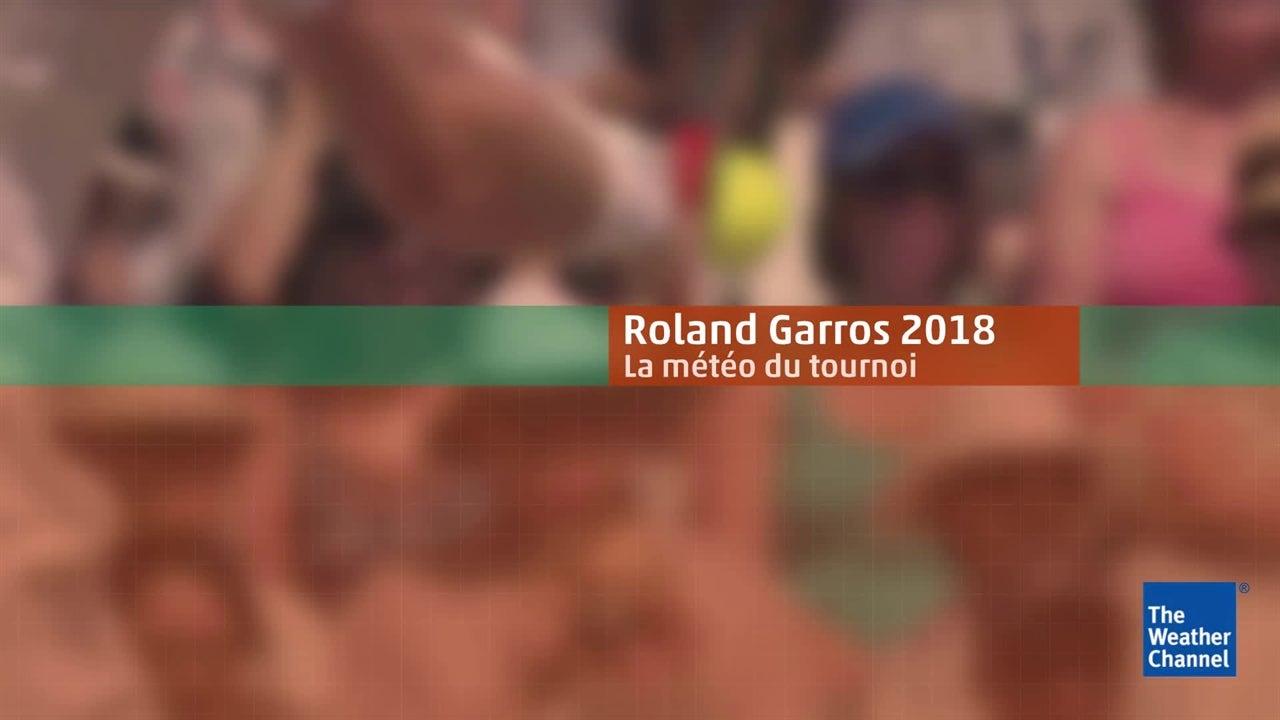 Roland-Garros : la météo du 7 juin en vidéo