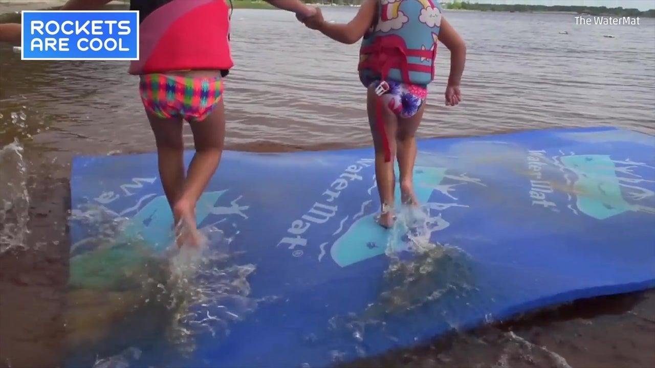 WaterMat Lets You Walk on Water