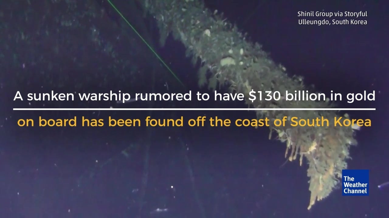 $130 Billion in Gold Found on Shipwreck?