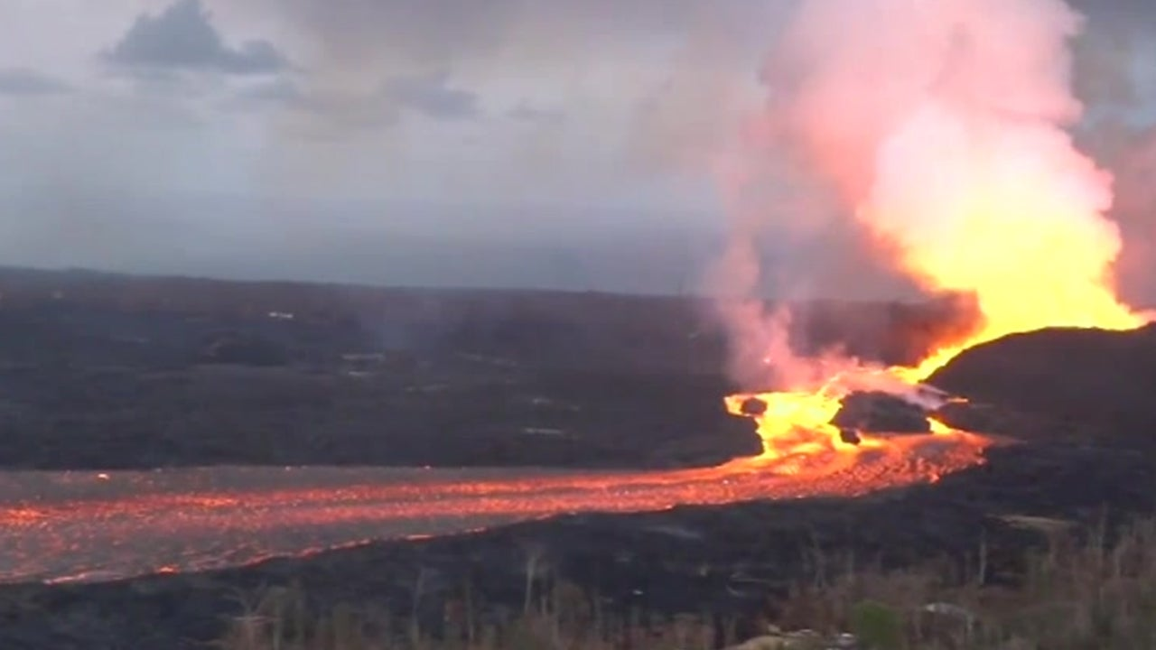 Lava from the Kilauea Volcano is Now Hotter and Moving Faster