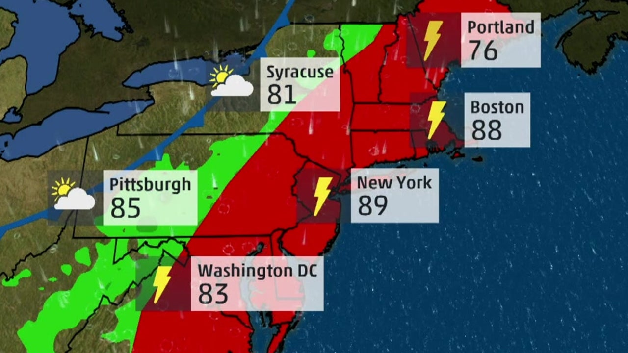 Severe Storms Wreak Havoc on Northeast Travel